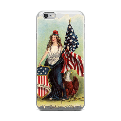 Emblems of Liberty iPhone Case