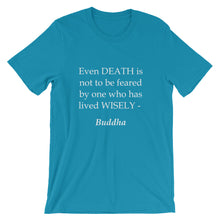Death is not to be feared t-shirt
