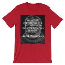 We are all apprentices t-shirt