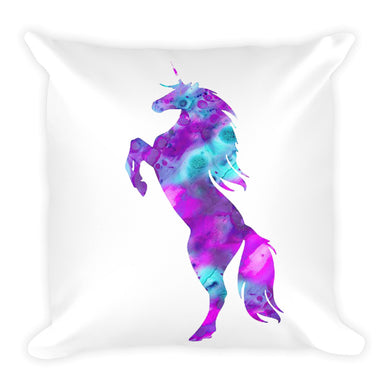 Psychedelic Unicorn Pillow