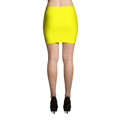 Yellow Mini Skirt