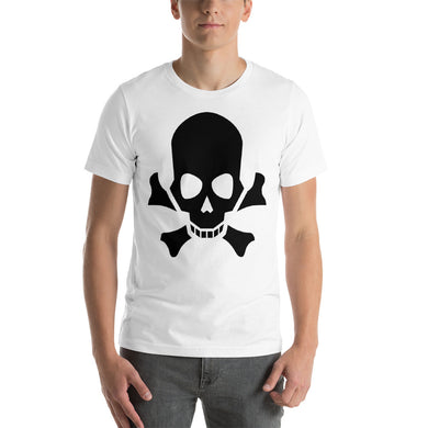 Skull and Crossbones Short-Sleeve Unisex T-Shirt