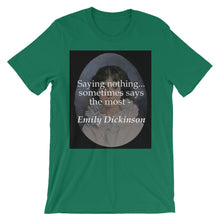 Saying nothing t-shirt
