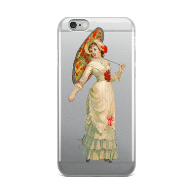 Victorian Lady iPhone Case
