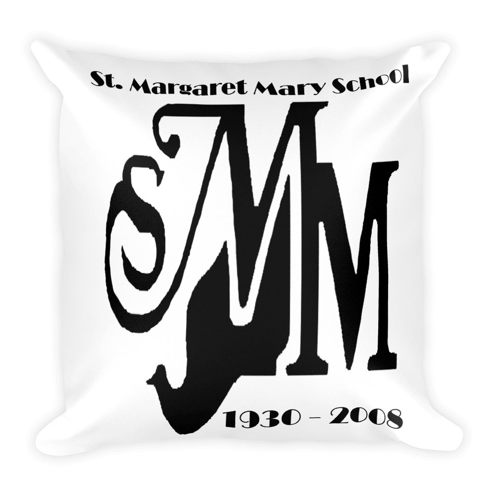 St. Margaret Mary School Square Pillow