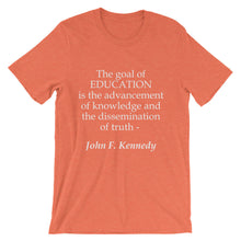 The goal of education t-shirt