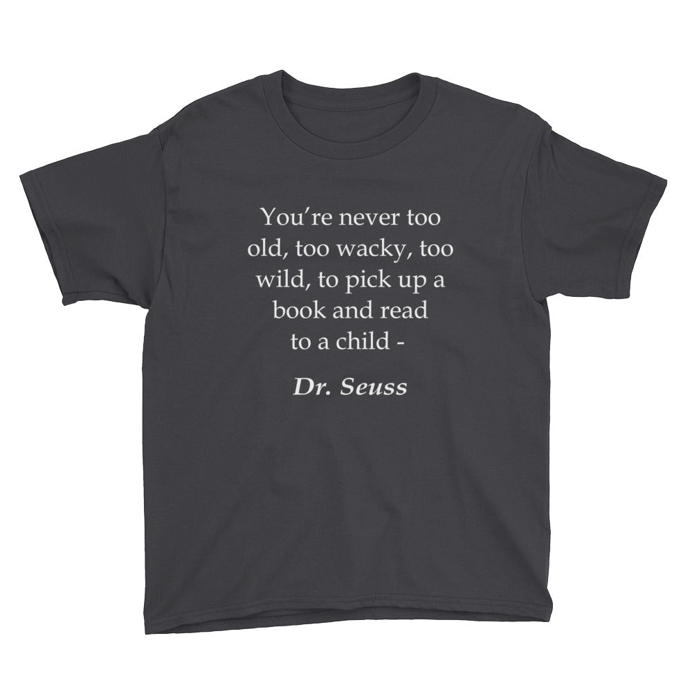 Read to a Child Youth Short Sleeve T-Shirt