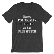 Before Politically Correct