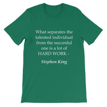 Hard Work t-shirt