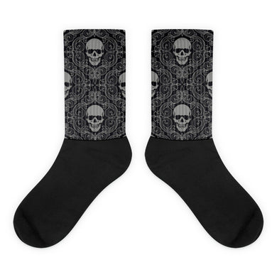 Skull foot socks