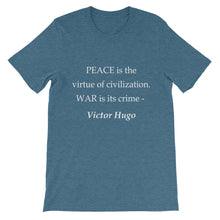 Peace and War t-shirt