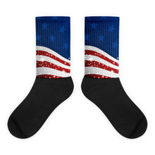 American Flag foot socks