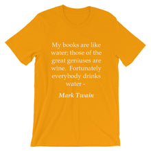 Wine and water t-shirt