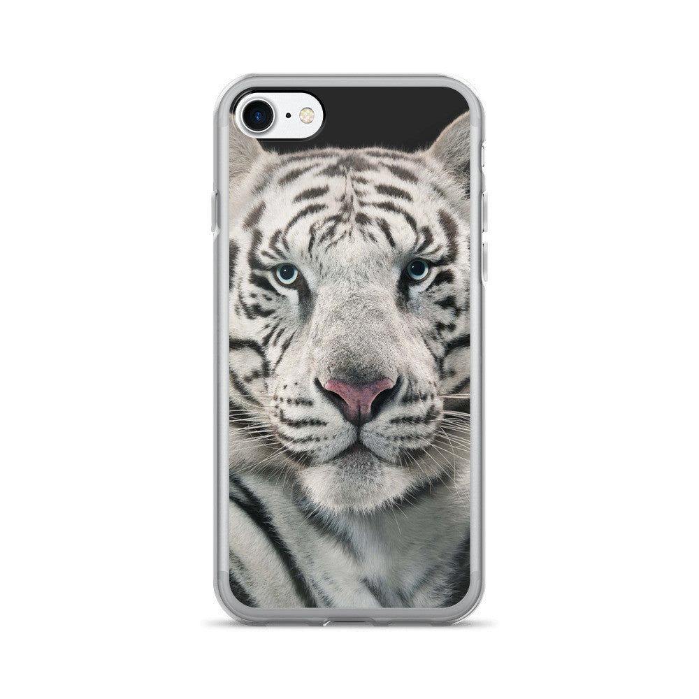 White Tiger iPhone 7/7 Plus Case