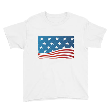 U. S. A. Youth Short Sleeve T-Shirt