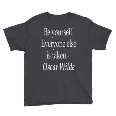 Be Yourself Youth Short Sleeve T-Shirt