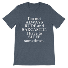 Not always rude