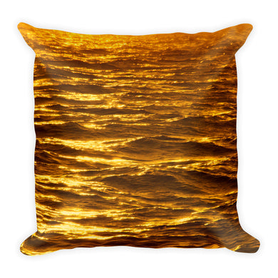 Golden Water Pillow