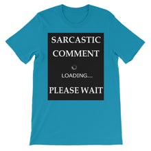 Sarcastic Comment Loading