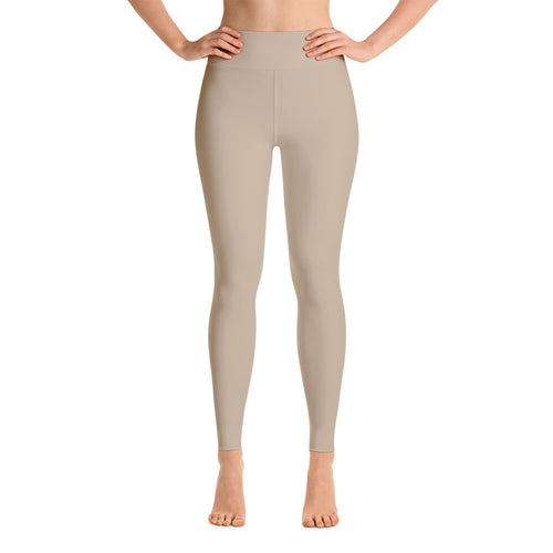 Tan Yoga Leggings