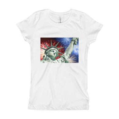 Girl's T-Shirt - Statue of Liberty