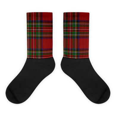 Plaid foot socks