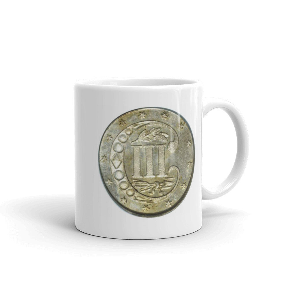 Three Cent Silver Mug