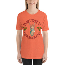 Merry Christmas Angel Short-Sleeve Unisex T-Shirt
