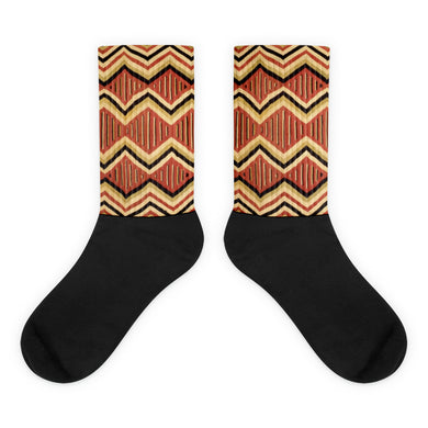 Pattern foot socks