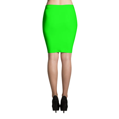 Green Pencil Skirt