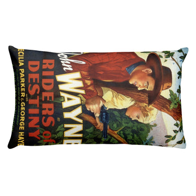 John Wayne Rectangular Pillow