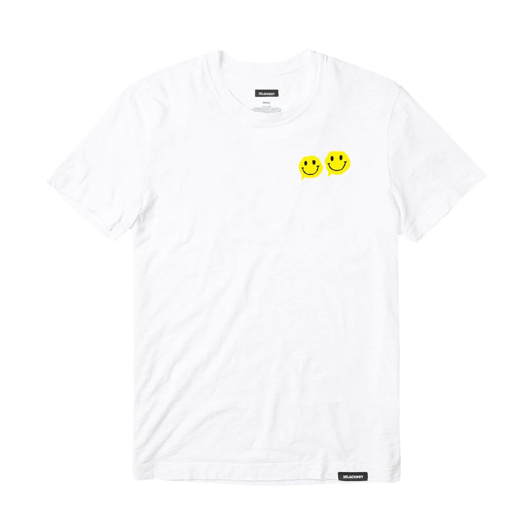 AZERRZ® | SMILEY FACE TEE (WHITE)