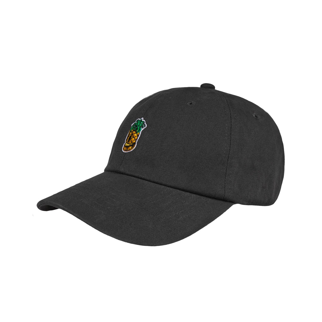 CRISPY CONCORDS® | PINEAPPLE DAD HAT (BLACK)