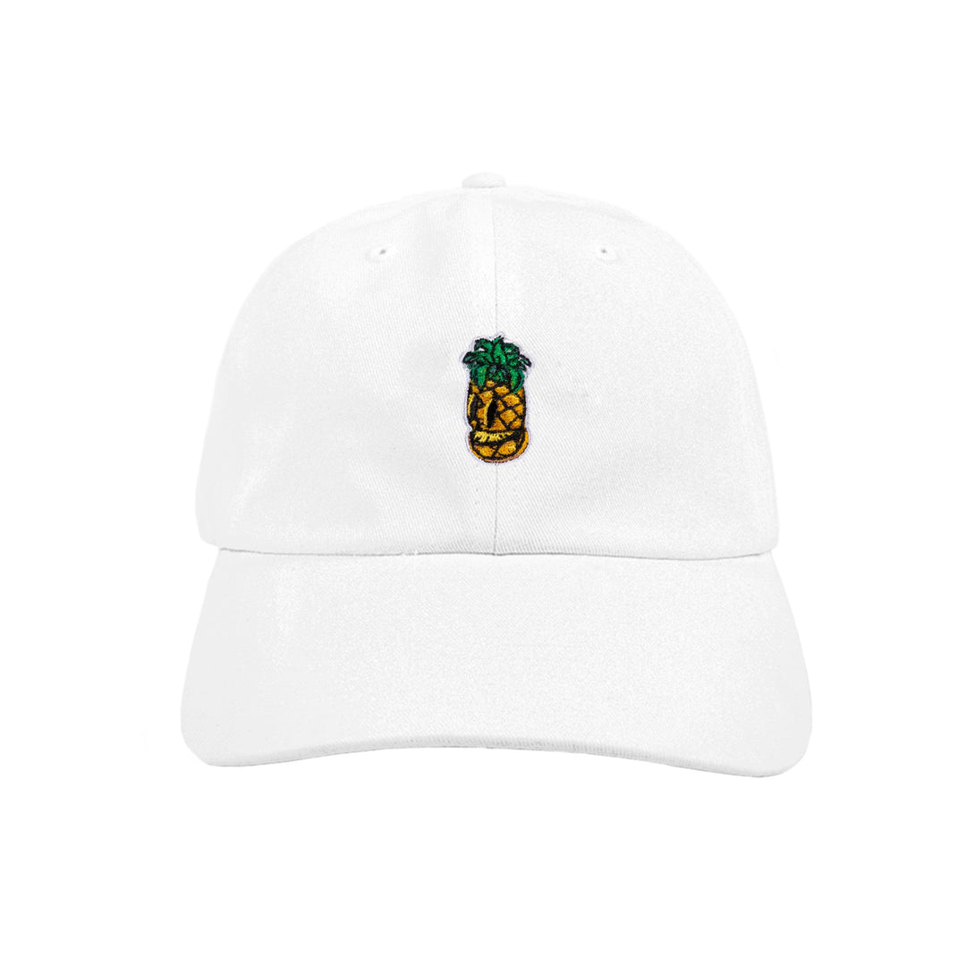 CRISPY CONCORDS® | PINEAPPLE DAD HAT (WHITE)