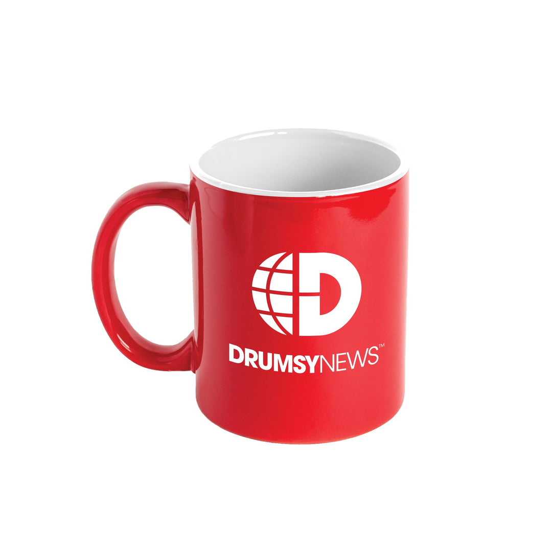 DRUMSY™ | NEWS MUG (RED) LIMITED EDITION