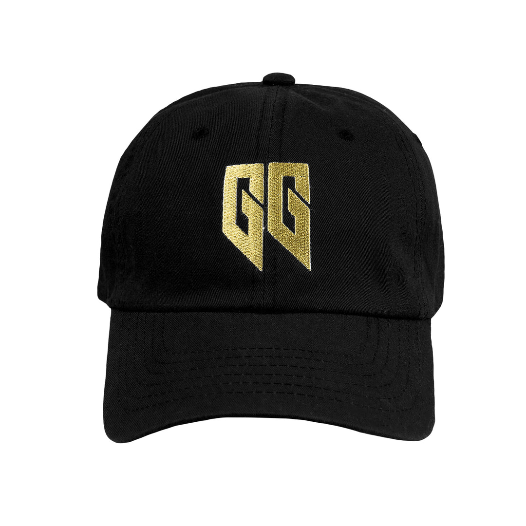 GOLDGLOVE® | GOLD LOGO DAD HAT (BLACK)