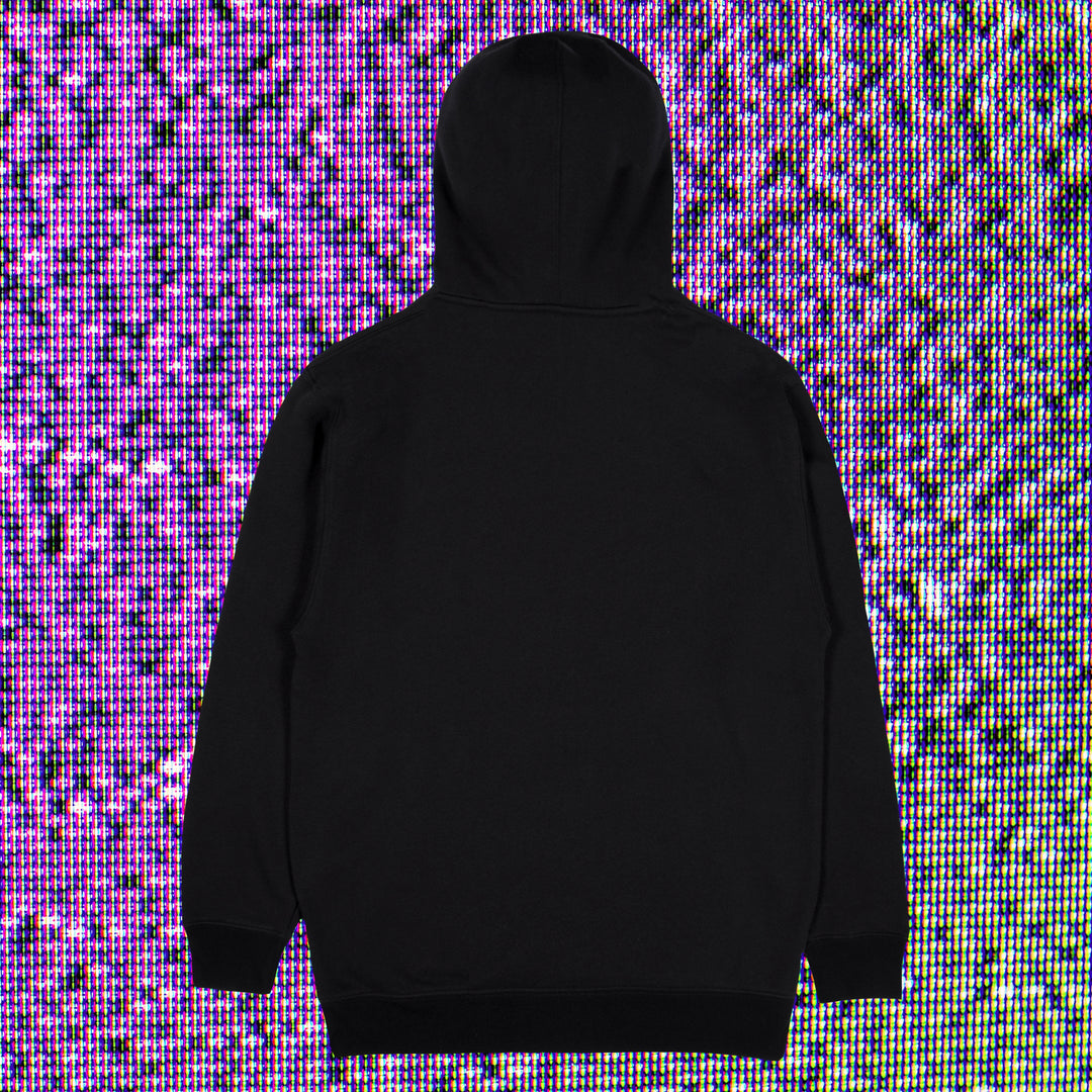 INTERNET TODAY® | 90'S WAVE HOODIE (BLACK) LIMITED EDITION