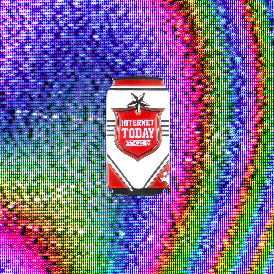 INTERNET TODAY® | LONESTAR PIN (RED / WHITE) LIMITED EDITION