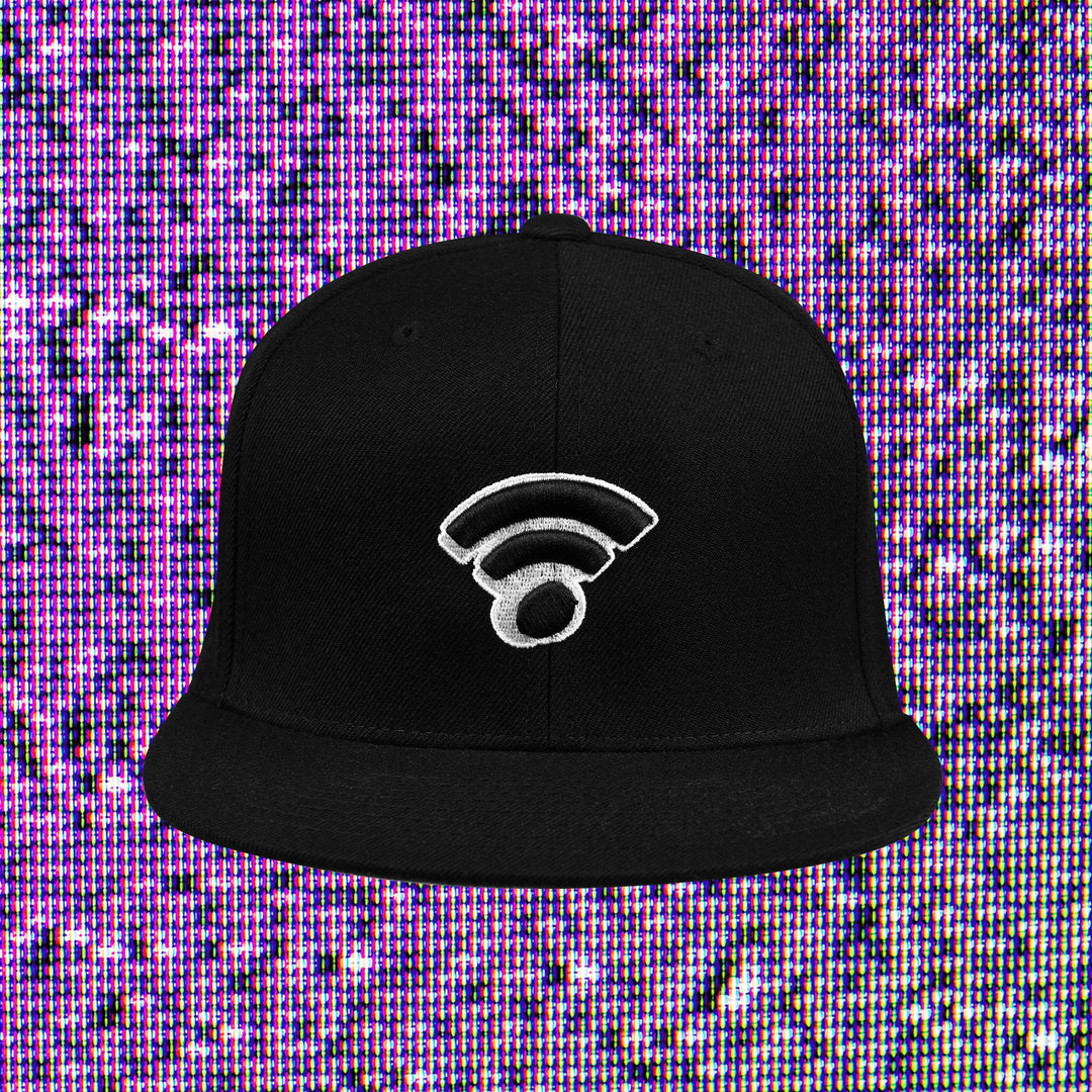 INTERNET TODAY® | WIFI SNAPBACK (BLACK) LIMITED EDITION
