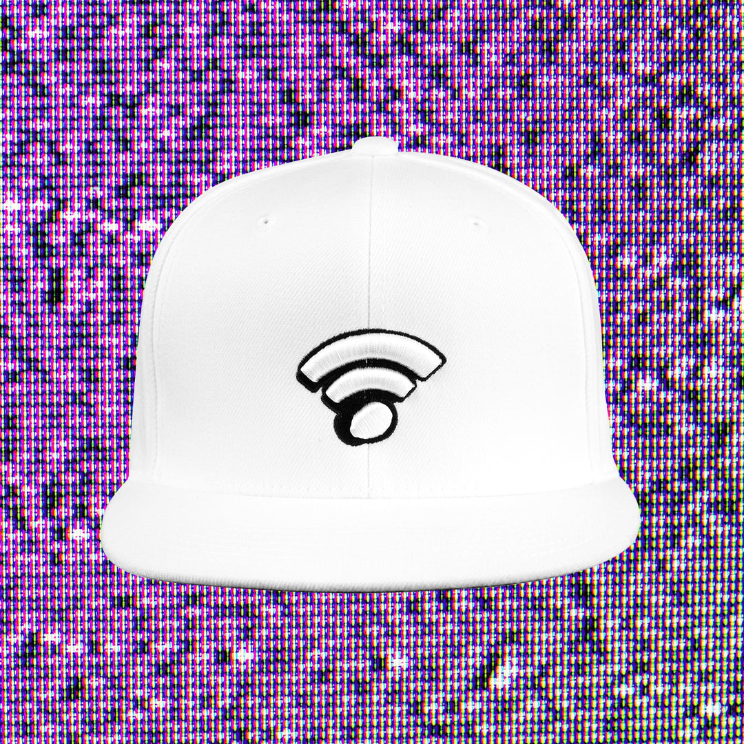 INTERNET TODAY® | WIFI SNAPBACK (WHITE) LIMITED EDITION