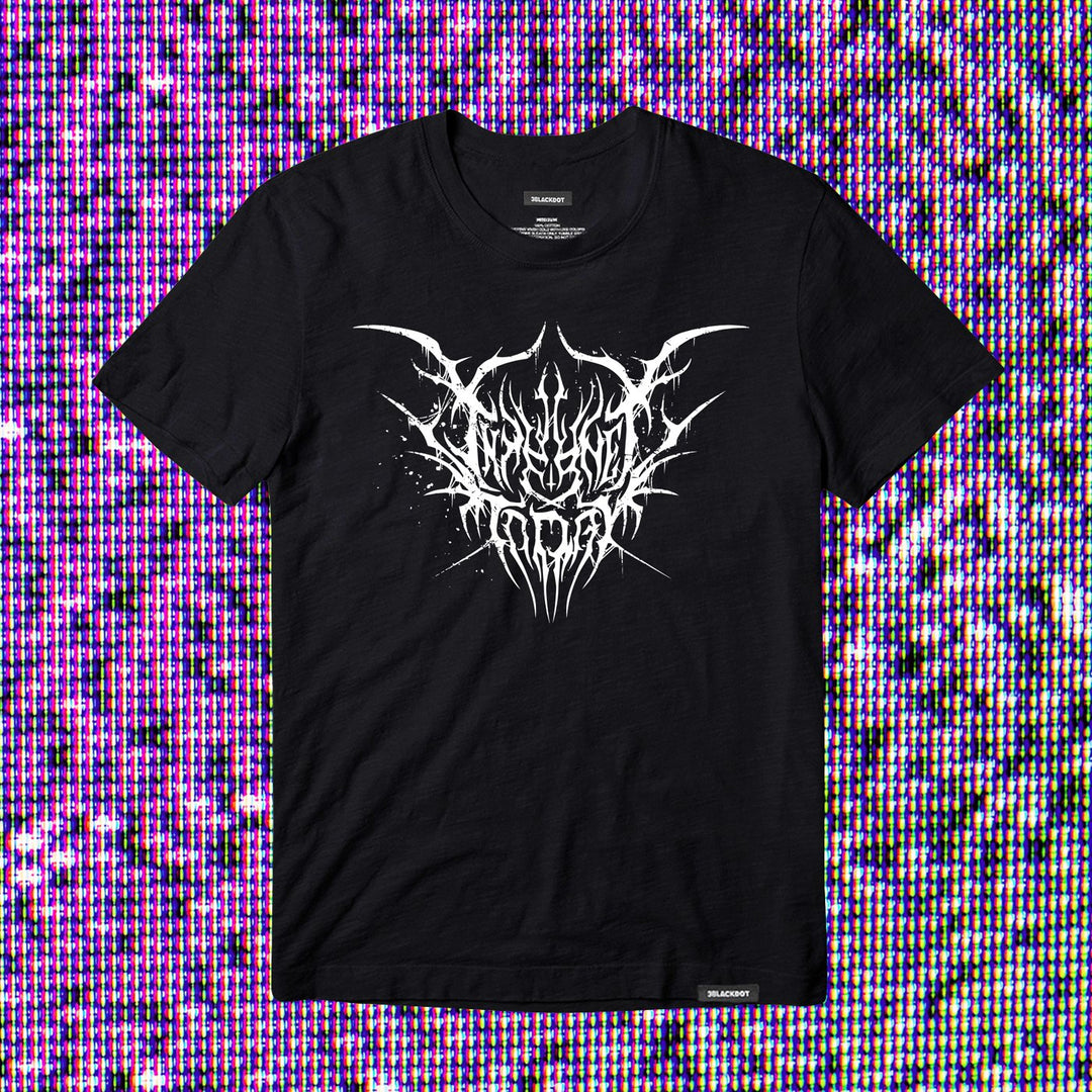 INTERNET TODAY® | BLACK METAL TEE (BLACK) LIMITED EDITION