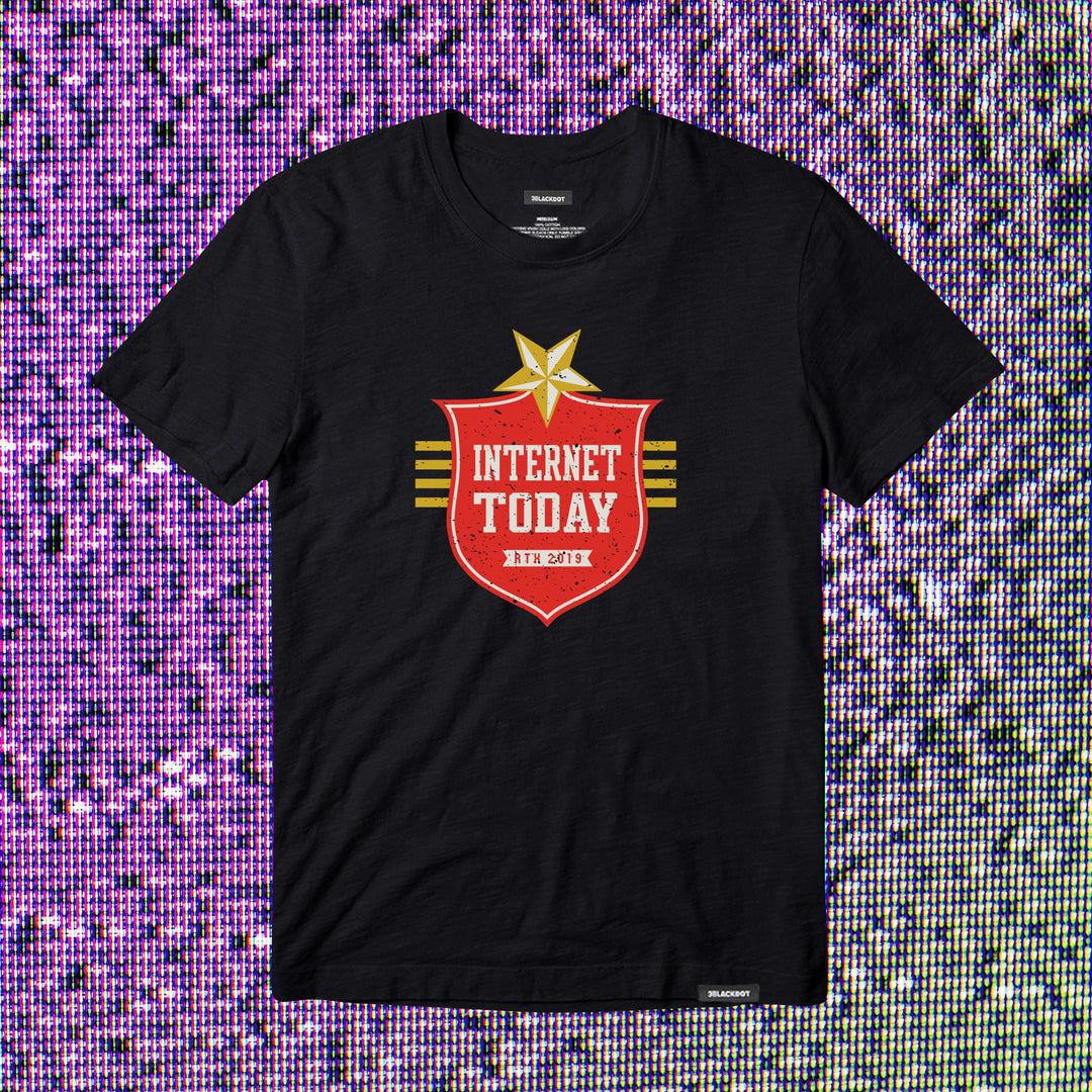 INTERNET TODAY® | LONESTAR TEE (BLACK) LIMITED EDITION