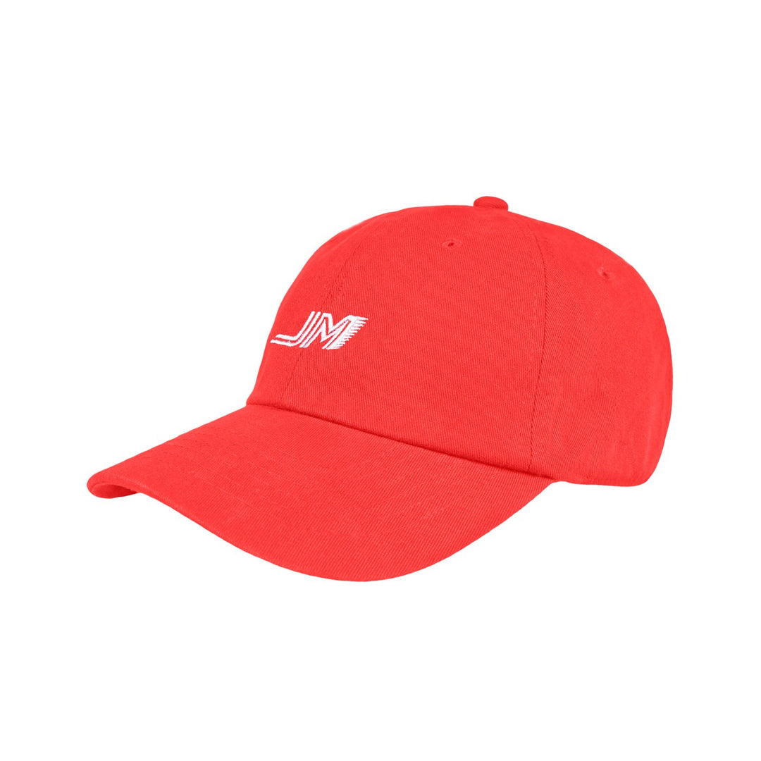 JORDAN MARON® | LOGO DAD HAT (RED)