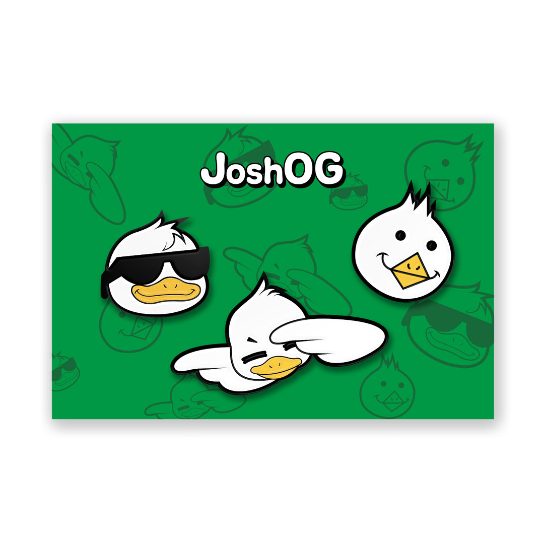 JoshOG® | EMOTE PIN-SET