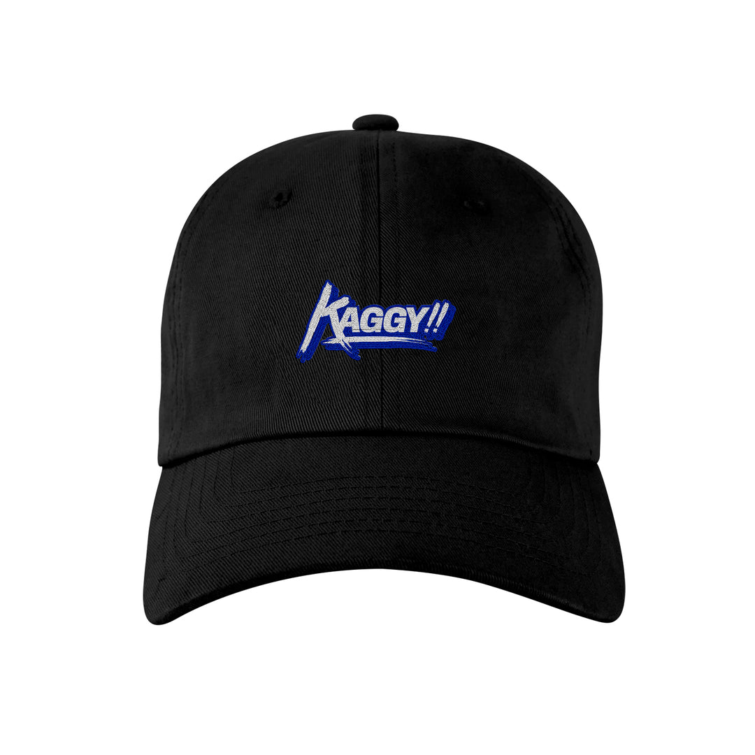 KAGGY® | LOGO DAD HAT (BLACK)