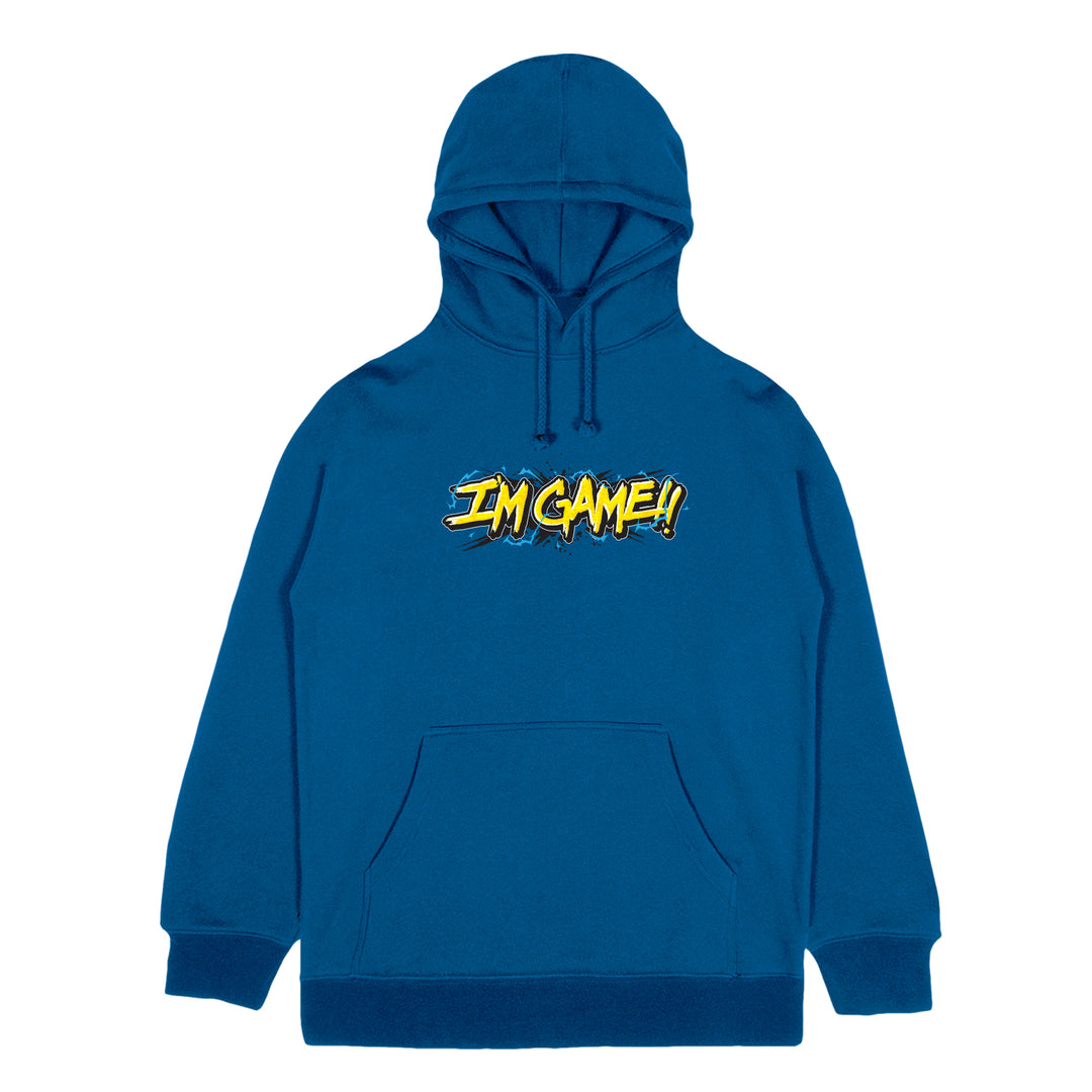 KAGGY® | I'M GAME! HOODIE (ROYAL BLUE) LIMITED EDITION