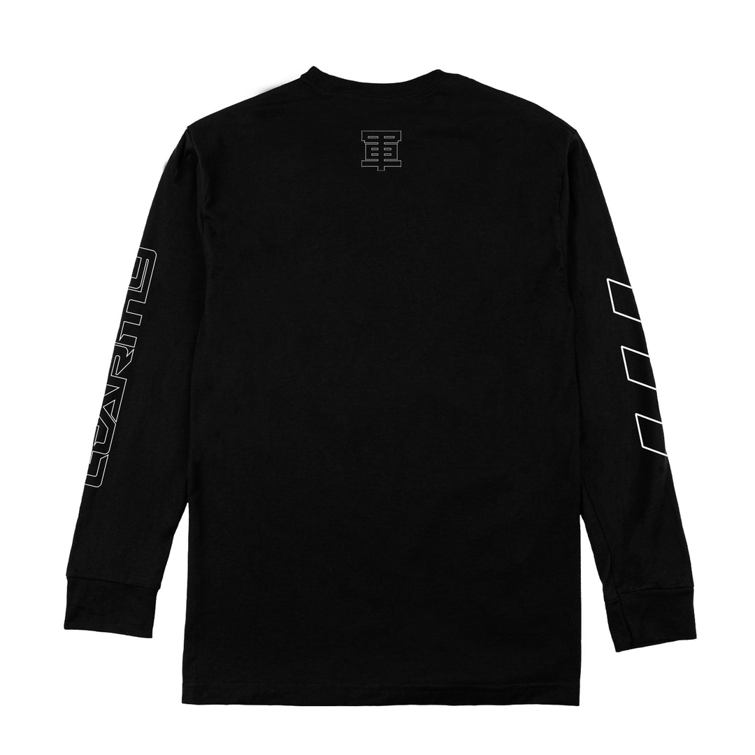 LT.ARMY™ | WORLD WIDE UNIT LONG-SLEEVE TEE (BLACK)