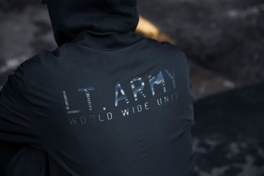 LT. ARMY™ | STEALTH LIGHTWEIGHT BOMBER JACKET (BLACK) LIMITED EDITION