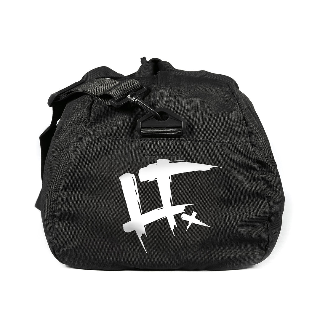 LT.ARMY™ |  GLOW IN THE DARK LOGO DUFFLE BAG (BLACK) LIMITED EDITION