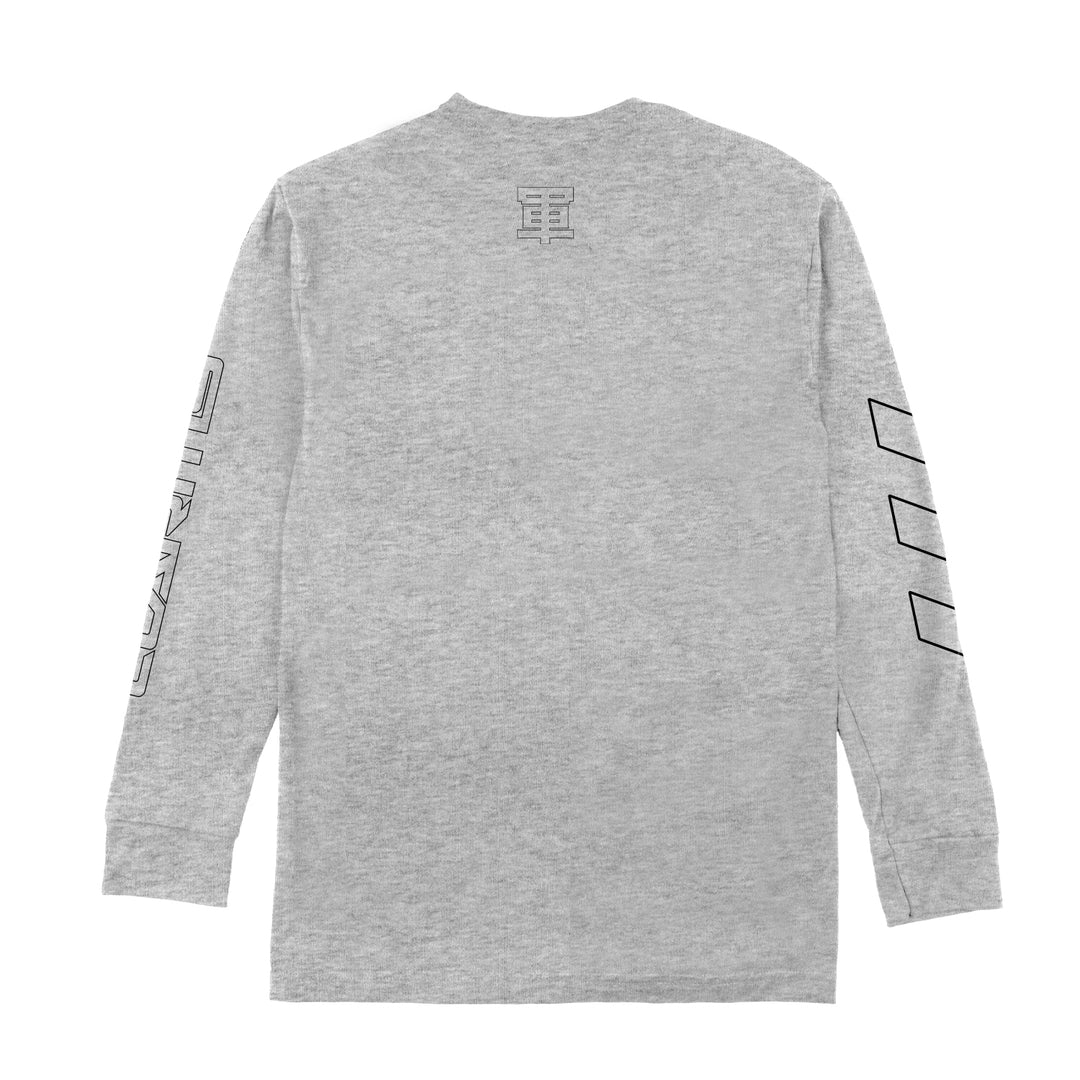 LT.ARMY™ | WORLD WIDE UNIT LONG-SLEEVE TEE (HEATHER GREY)